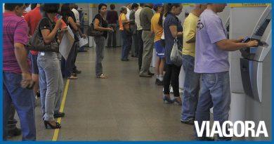 Agências bancárias iniciam expediente ao meio dia nesta quarta  Viagora