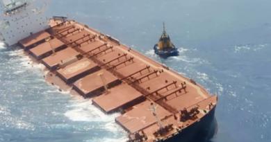 Governo monitora risco de vazamento de navio encalhado no Maranhão