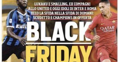 Jornal italiano escolhe manchete infeliz para tratar de jogadores negros