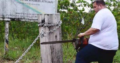MPF estuda ação contra deputado que derrubou bloqueio em área indígena