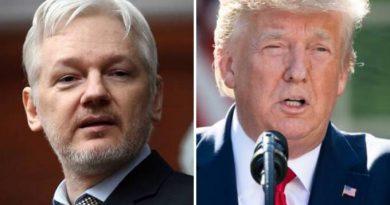 Trump ofereceu perdão presidencial a Julian Assange