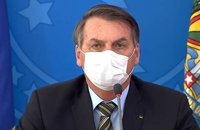 Bolsonaro fala em 'apoio incondicional' do Congresso contra o coronavírus