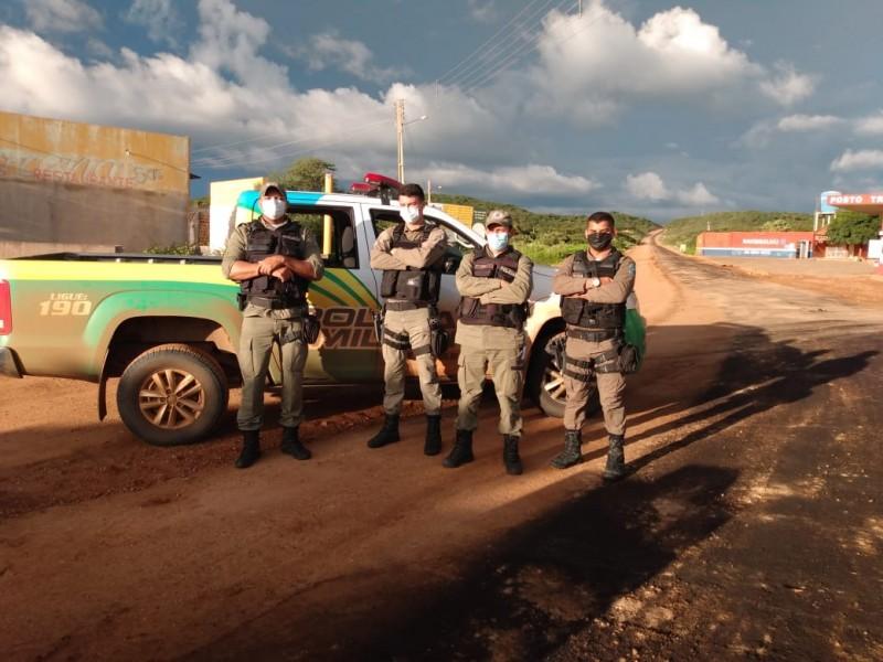 PM desenvolve ações no combate ao coronavírus no Piauí