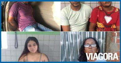 Polícia prende cinco pessoas nas cidades de Teresina e Alto Longá