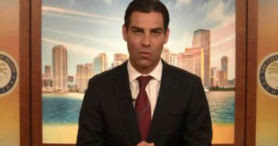 Prefeito de Miami está com coronavírus