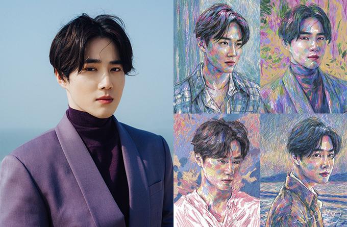 SUHO, do EXO, estreia seu debut solo com o emocionante álbum Self Portrait