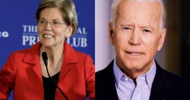 Elizabeth Warren declara apoio a Biden em campanha à Presidência dos EUA