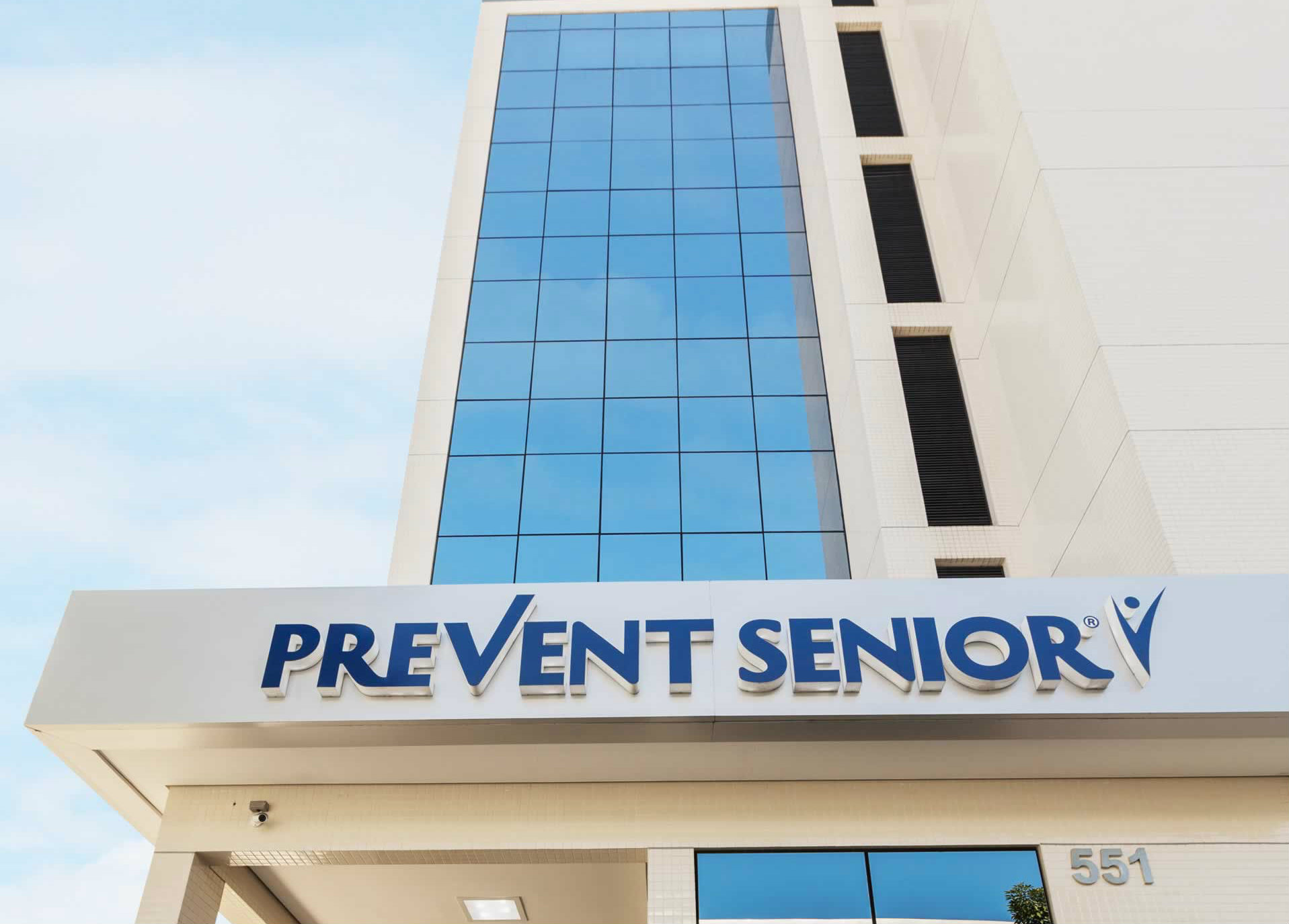 Fachada de hospital da Prevent Senior no Tatuapé