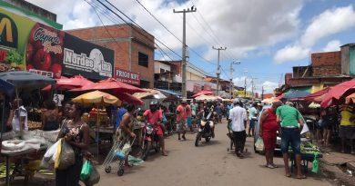 Feirantes de São Luís já percebem queda no movimento