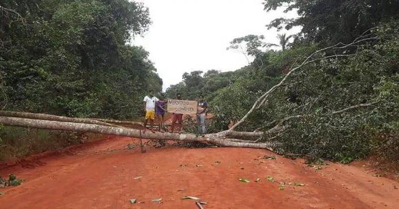 Cansados de esperar pelo governo, indígenas fecham estradas e expulsam garimpeiros