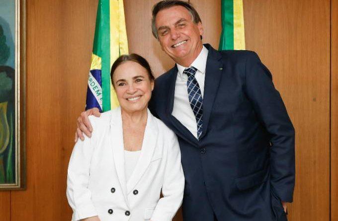 Regina Duarte encarna a nova radical de Bolsonaro contra isolamento social