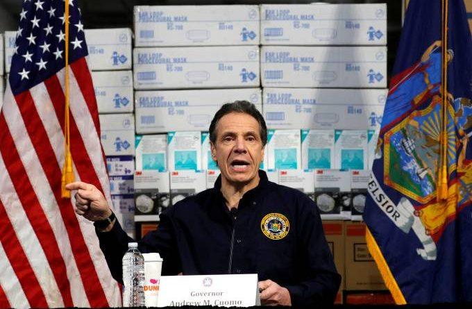 Sistema de saúde de Nova York está 'a dias' de colapso, alerta governador