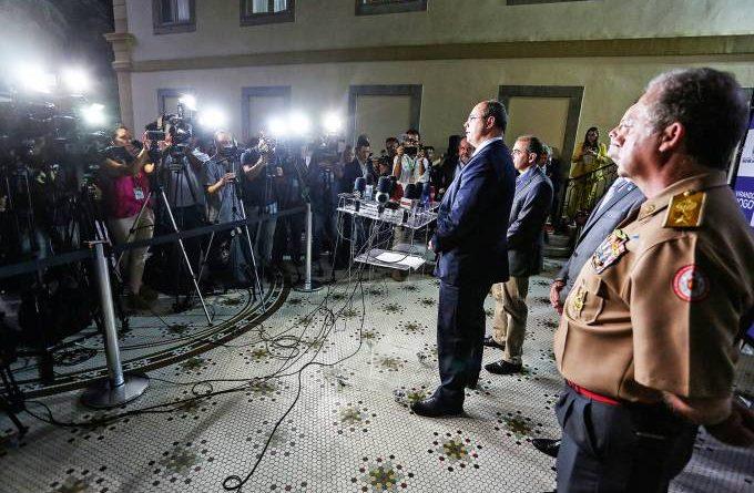 Witzel cria gabinete de crise para combate ao coronavírus no Rio