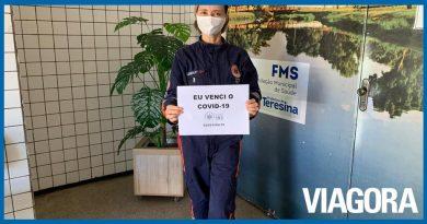 Enfermeira vence a Covid 19 e retorna para o trabalho em Teresina