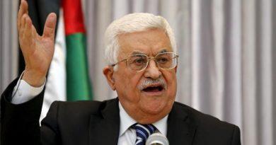 Palestina se retira de todos os acordos com EUA e Israel