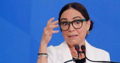 Postura de Regina Duarte teve repercussão negativa no Twitter