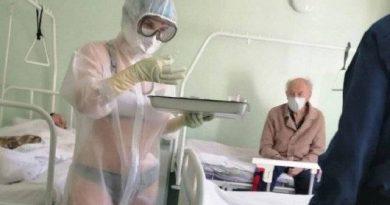 Salada russa: enfermeira sexy, números doidos, Putin quieto