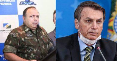 Bolsonaro erra nome de ministro da Saúde no dia que Brasil bate recorde de mortes por Covid