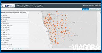 Confira os bairros com mais casos de coronavírus em Teresina