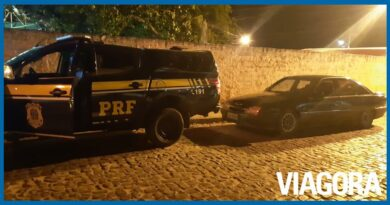 Acusado de homicídio em Goiás é preso pela PRF em Bom Jesus