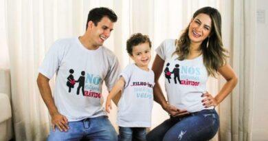 Lucilene Caetano, mulher do ex Fazenda Sertanejo, está grávida de 2º filho