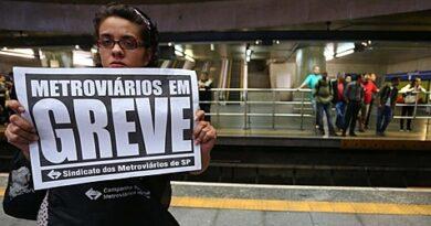 Metroviários de São Paulo realizam ato nesta sexta; greve deve ser dia 28/7