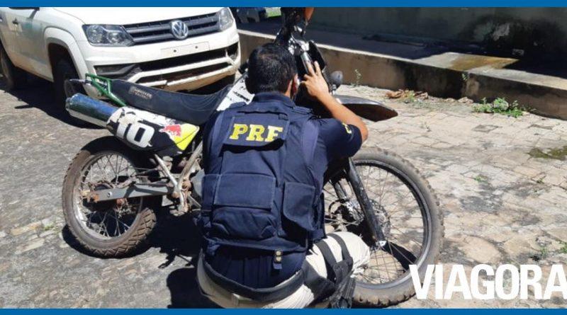 PRF PI recupera motocicleta roubada há 15 anos em Piracuruca