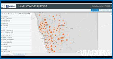 Saiba quais são os bairros mais afetados pela Covid 19 em Teresina