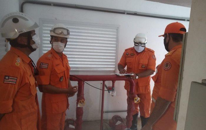 Corpo de Bombeiros segue com operação de vistorias em prédios residenciais da capital