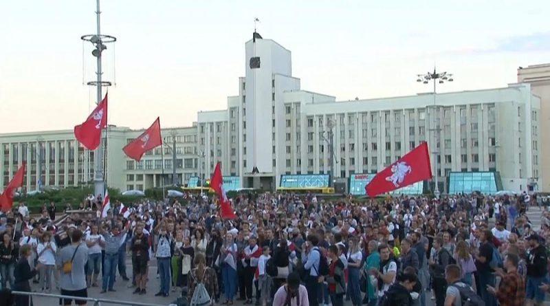 Cresce a oposição a Alexander Lukashenko