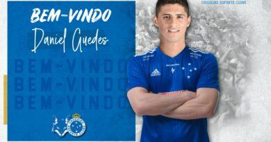 Daniel Guedes é apresentado pelo Cruzeiro de forma inclusiva