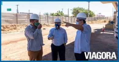 Elmano visita obras de infraestrutura em andamento em Teresina