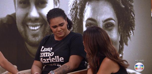 """Família de Marielle no """"Encontro"""" levou a lágrimas e pedidos por justiça"""
