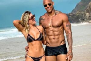Lorena Improta conta que editou foto de Léo Santana para evitar comentários
