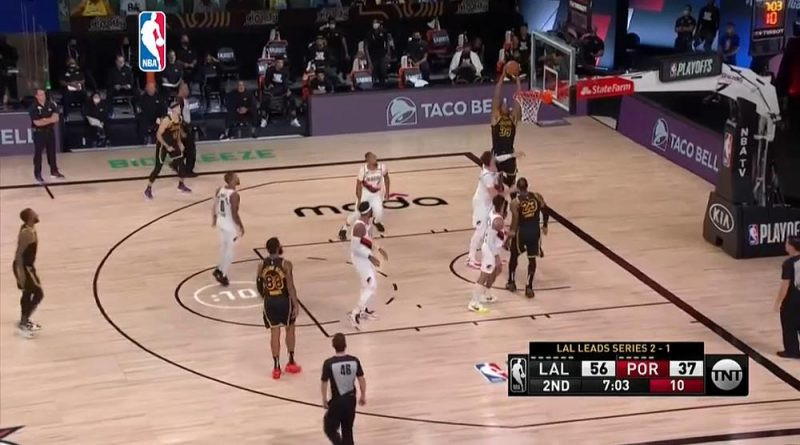 NBA: Los Angeles Lakers derrotam Portland Trail Blazers nos Play offs