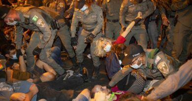 Novos protestos contra o governo de Israel