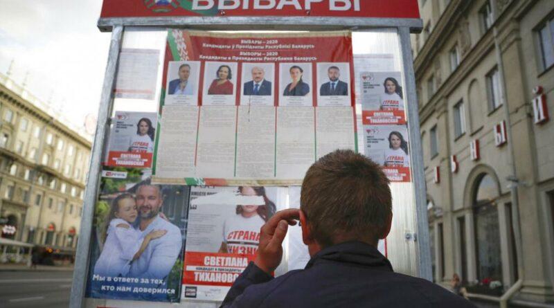 Polícia prende elementos da oposição bielorrussa