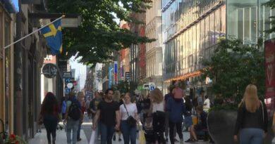 Suécia anuncia queda na taxa de infeção por Sars Cov2