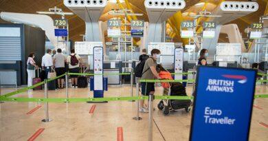 Surpresa entre os viajantes de Espanha para o Reino Unido
