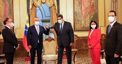 Turquia vai construir hospital na Venezuela para celebrar 70 anos de diplomacia