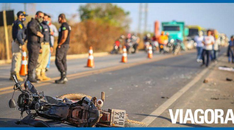 Acidente deixa servidor da Prefeitura de Demerval Lobão morto na BR 316