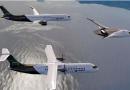 Airbus apresenta três conceitos de aviões movidos a hidrogênio para 2035