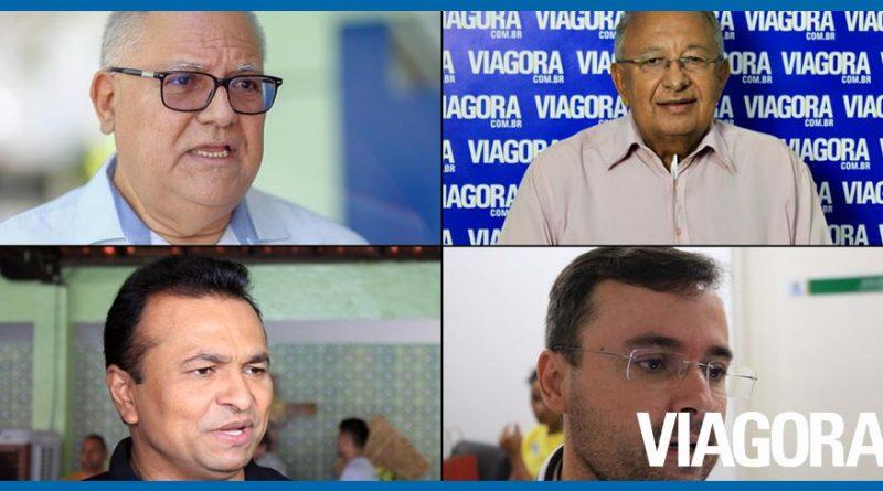 Confira a agenda dos candidatos a prefeito de Teresina deste sábado