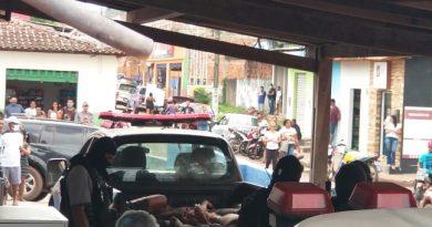 Durante troca de tiros com a polícia cinco suspeitos de integrarem facção criminosa morrem