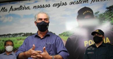 Governador do MS, Reinaldo Azambuja testa positivo para covid 19