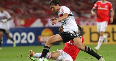 """Igor Gomes diz que São Paulo sai chateado com o empate: """"Foi um resultado injusto"""""""