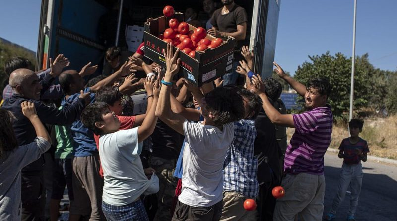 Mais incêndios no campo de migrantes de Moria