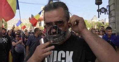 Manifestações anti restrições da Covid 19