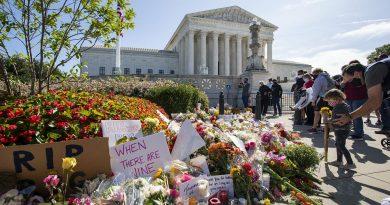 Morte de Ginsburg dá origem a guerra política