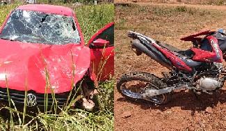 Motociclista de 45 anos morre após sofrer colisão traseira na BR-010